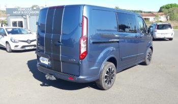 Ford Transit CUSTOM 320S 2.0 EcoBlue TDCI 185 BVA L1H1 SPORT CAB APPRO complet